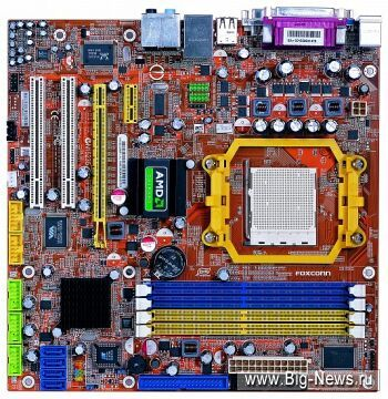 Три платы Foxconn на базе логики ATI Radeon X1250